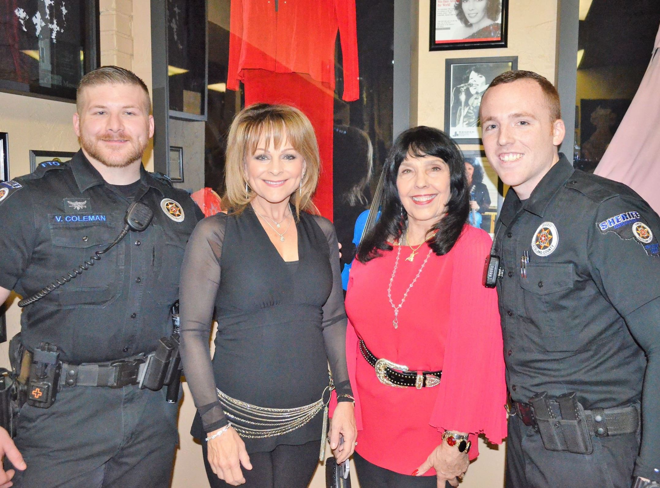 Deputies attend meet and greet for women musicians