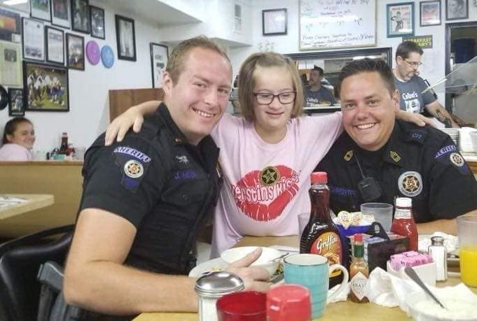 Deputies with big hearts