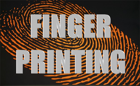Finger Printing Icon