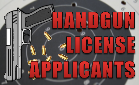 Handgun License Icon