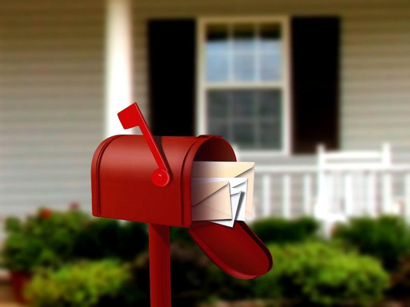 small-red-mailbox